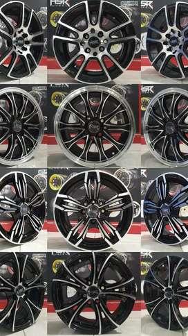 Velg HSR terbaru ring 14 cocok untuk Brio Agya Calya Datsun Karimun