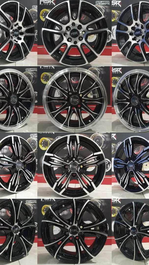 Velg HSR terbaru ring 14 cocok untuk Brio Agya Calya Datsun Karimun 0