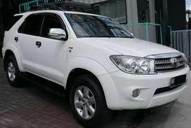 Toyota Fortuner G 2.5 A/T 2011 bisa kredit