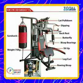 Alat fitnes surabaya home gym BEST sansak JM5