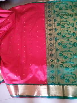 Saree sela type for sale, unused best look and colour