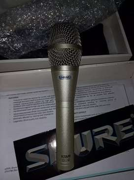 Mic vocal terlaris SHURE KSM-9