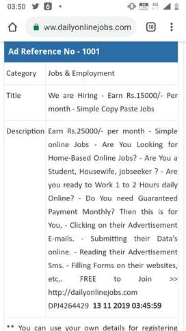 Home jobs for students