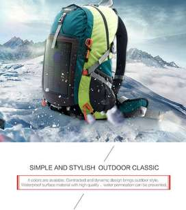 Tas Backpacker Solar Cell inovasi & trendy