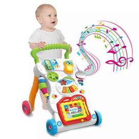 Huanger Activity Musical Baby Walker