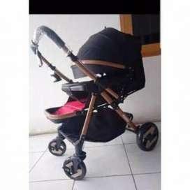 Baby Bliss 898 Stream wonfuss Kereta Dorong Bayi