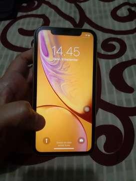 Iphone XR 128 GB warna kuning mulus 100%