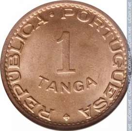 1 tanga republica portuguesa coin