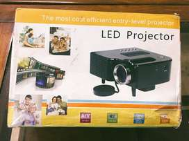 Home LED Projector Mini Portable 1080P HD Projection for Theater