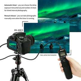 SHOOT DMW-RS1 LCD Timer Shutter Release Remote Control for DSLR 2.5mm