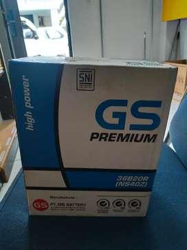 Jual accu GS PREMIUM NS40Z untuk avanza,xenia, Gran max,