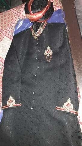 Sherwani with kula and khusa