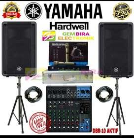 Paket Speaker Aktif Yamaha 10 inch mixer Yamaha Mg10xu Original Resmi