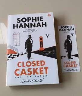 Novel Preloved Closed Casket by Sophie Hannah (Hercule Poirot)