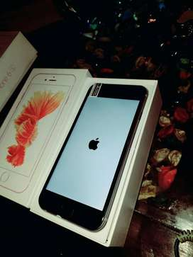Apple Iphone 6s 64 gb rom  in warranty with & box on cash on delivery