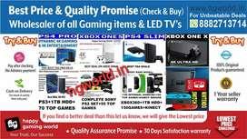 Wholesale PS2 ps3 ps4,Xbox1X 1S 360,Switch,VR-allGamingItems&LED TVs