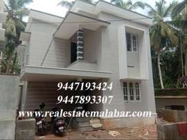 New 3 bedroom house for sale at Chelavoor..Price:50 Lakhs,Area :4 Cent