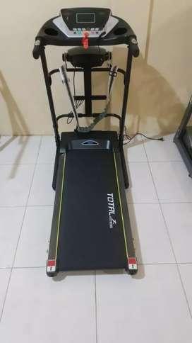 3 in 1 Electric treadmill black bisa cod