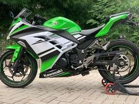 CASH CREDIT jual motor moge kawasaki ninja 250 fi SE ABS 30th anniv