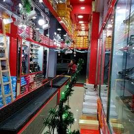 SalesMan & helper for Retail Shoe Shop