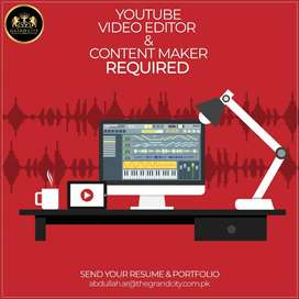 Youtube Content maker and Video Editor