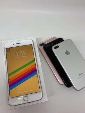 Iphone 7+ 128 & 256gb warna komplit ready bosku