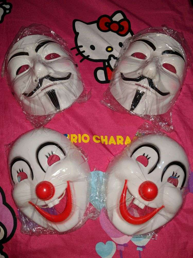 Topeng Anonymous & Happy Clown 0