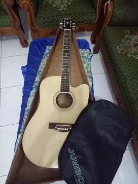 Gitar yamaha jumbo bonus tas
