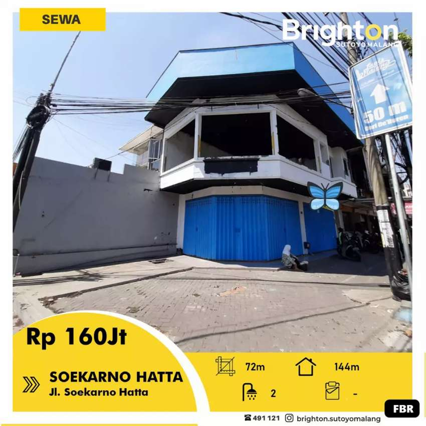 Tempat usaha di poros jalan Sukarno Hatta 0