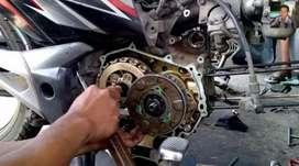 Servis segala jenis motor