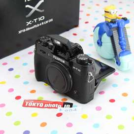 Fuji XT-10 Body only Mulus Grade A