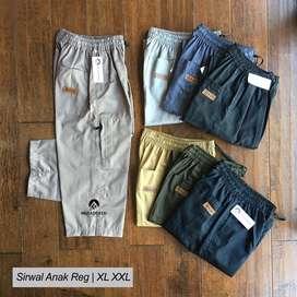 Celana Sirwal Muslim Anak Reguler | Size XL XXL