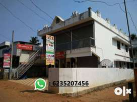 Shop / office for Rent in Chalakudy suburbs - 2 km from Railway stn.