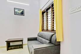 Fully Furnished 1 BHK in HBR Layout