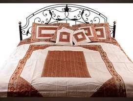 Banarasi wedding bed cover