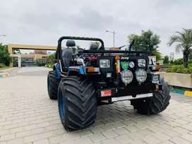 Black Blue Ultimate Modified Hunter Jeeps