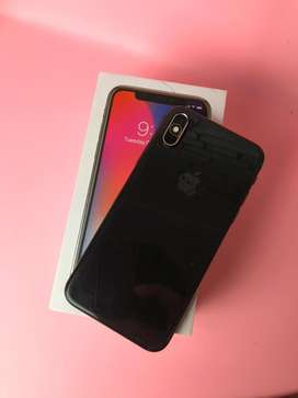Iphone x 256 spacegrey full set (garansi baru habis september)