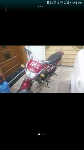 honda pridor 100cc in new condition  urgent sale 14 model