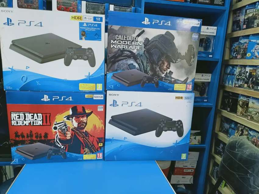 Playstation PS4 used Console 500gb Best condition Games Price Karachi