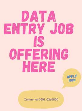 Essential data entry jobs are provided by us to help you earn online
