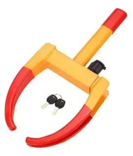 Universal heavy duty car tyre lock.