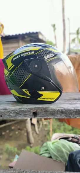 Helm GM MOEX MUFFLER RACING
