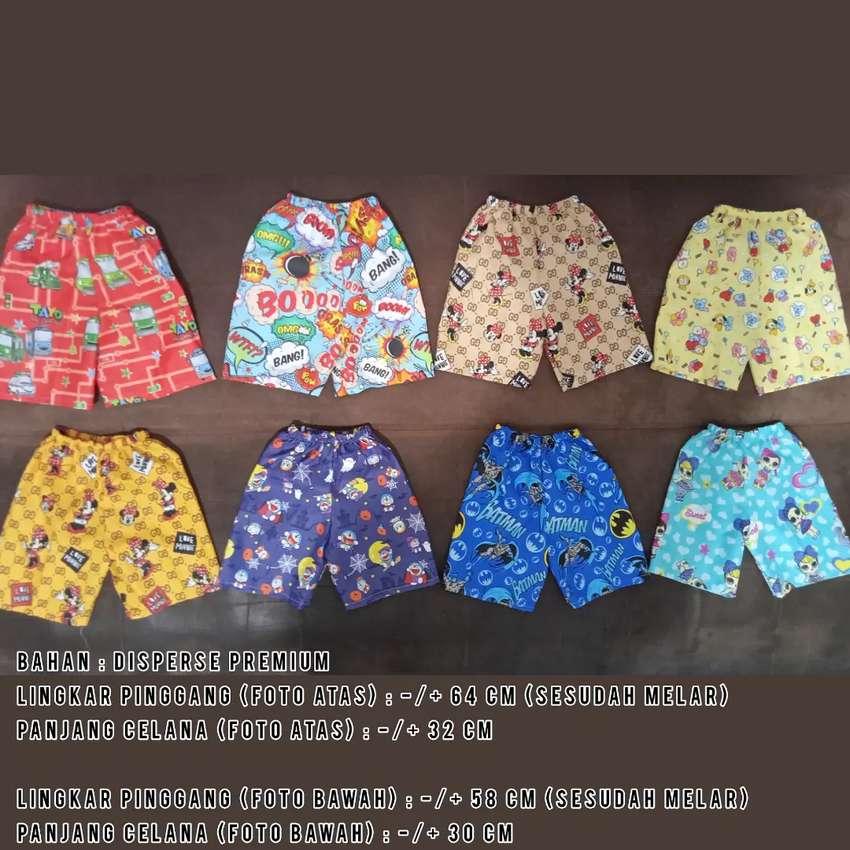 Celana Pendek Anak 24 Pcs