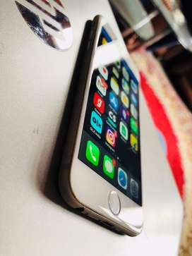 iphone 6 64GB Silver osm cool condition