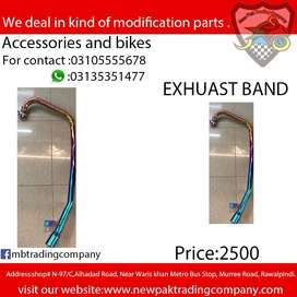 FULL EXHAUST BAND