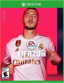 Fifa 20 xbox one s physical game