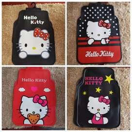 Minggu buka Vm36Go Promo karpet Hello Kitty motif pita Merah Lucu Bozz