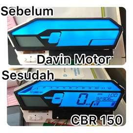Serpis speedometer digital