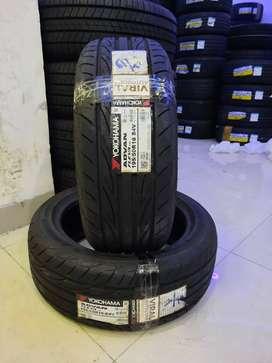 ban mobil yaris ban tobles baru YOKOHAMA ADVAN fleva -V701 195 50 R16