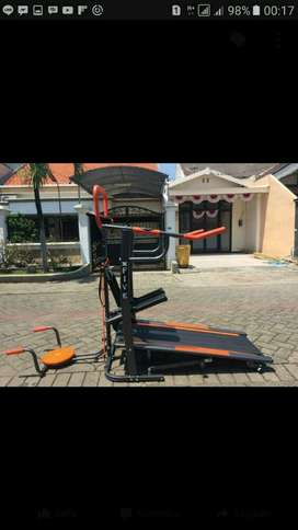 dijual Treadmil manual 5 fungsi